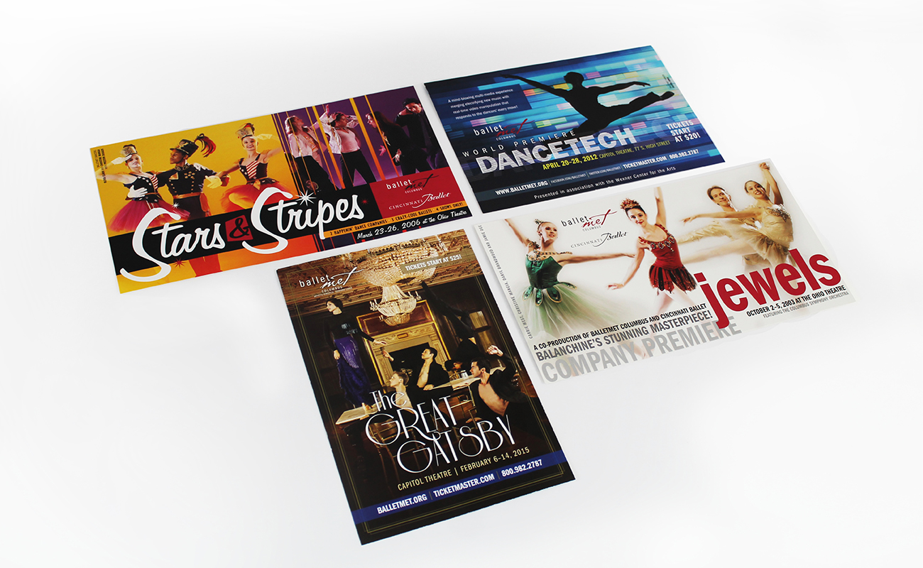 BalletMet Postcards