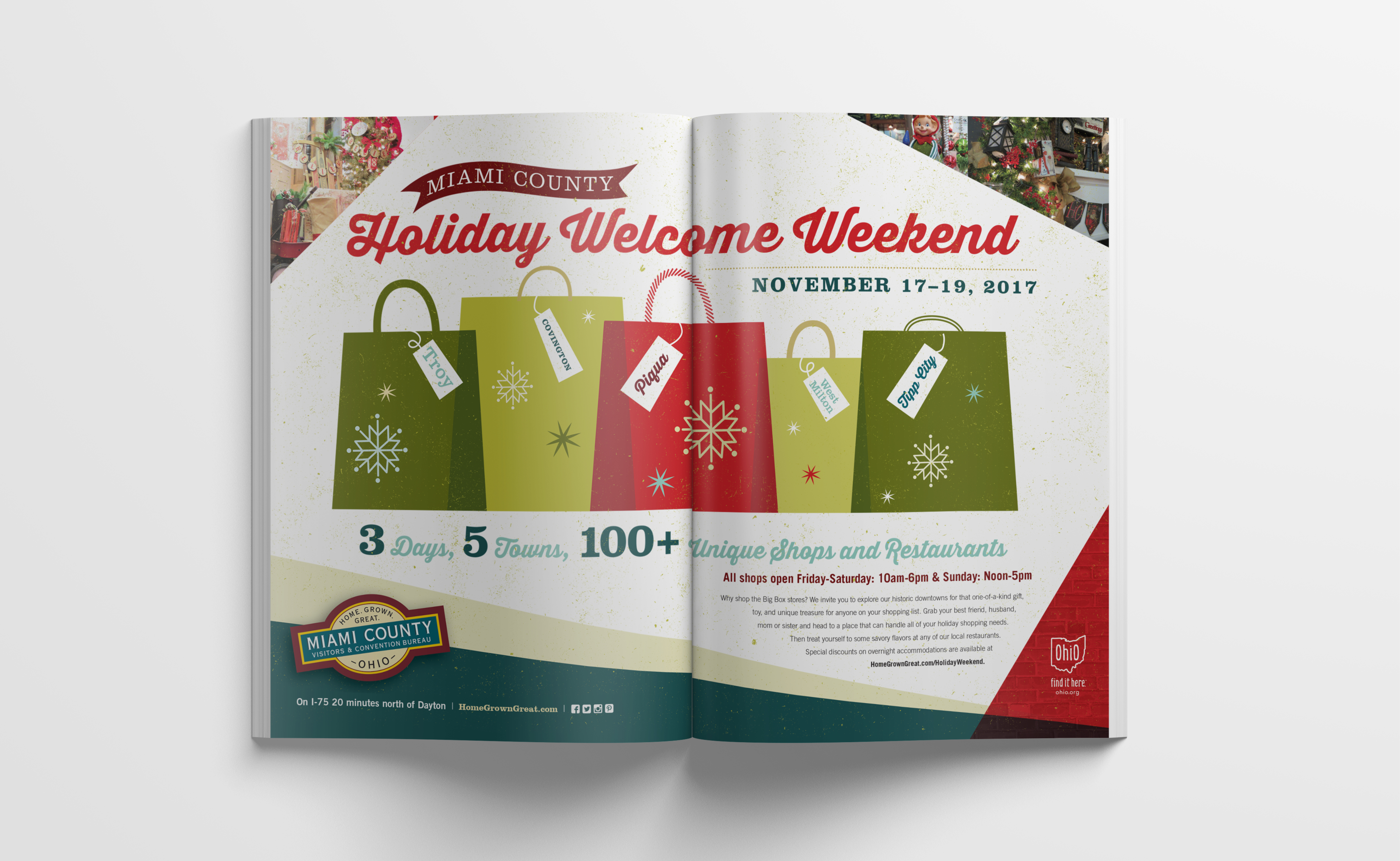 Holiday Welcome Weekend Ad