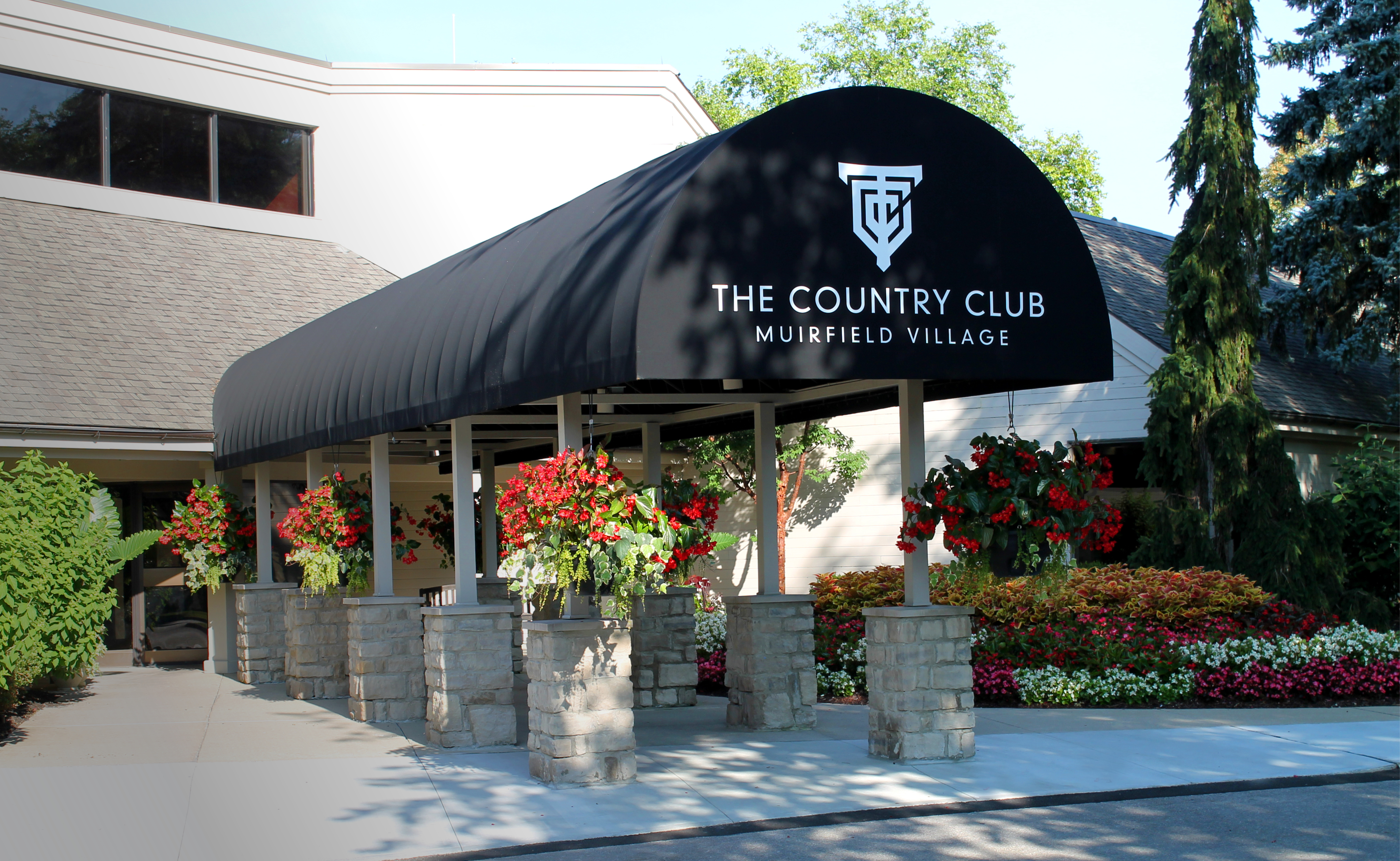 The Country Club at Muirfield Village Entrance Sign